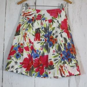 Twenty One short floral skirt summer fall